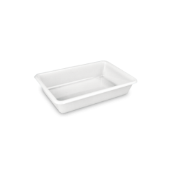 1472 cubeta rectangular 2 l Blanco