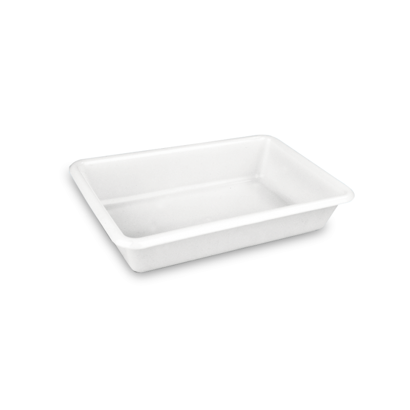 1478 cubeta rectangular 3 l Blanco