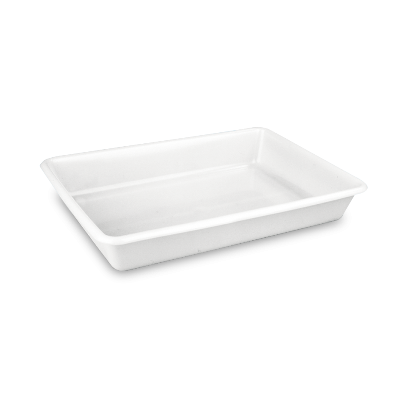 1544 cubeta rectangular 8 l Blanco