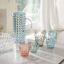22570252 set 6 vasos pequeños tiffany Multicolor